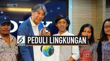 Seorang mahasiswa Universitas Gunadarma Jakarta memenangkan beasiswa sebesar Rp 20 juta lewat kompetisi desain tas ramah lingkungan. Hadiah ini ia dapatkan dari kontes yang diadakan oleh Sony Indonesia.