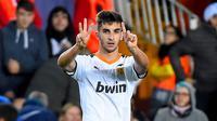 Pemain Valencia, Ferran Torres. (AFP/Jose Jordan)