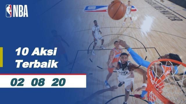 Berita Video10 Aksi Terbaik NBA 2 Agustus 2020, Ada Blocking Ciamik LeBron James