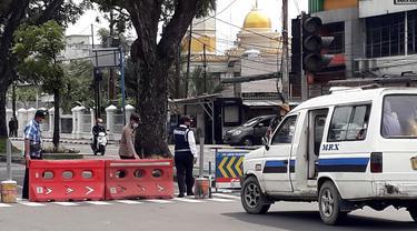 Penyekatan di Kota Medan