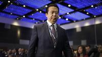 Kepala Interpol yang berasal dari China, Meng Hongwei (AFP/Wong Maye)