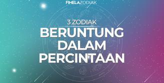 3 Zodiak Beruntung dalam Percintaan