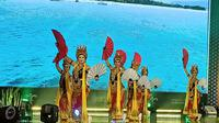 Peluncuran calender of event Banyuwangi di Gedung Sapta Pesona, Kemenparekraf, Rabu (8/1/2020). (Liputan6.com/Dinny Mutiah)