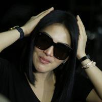 Miliki rambut pendek ternyata menjadi langkah awal Syahrini untuk berhijab. (Adrian Putra/bintang.com)