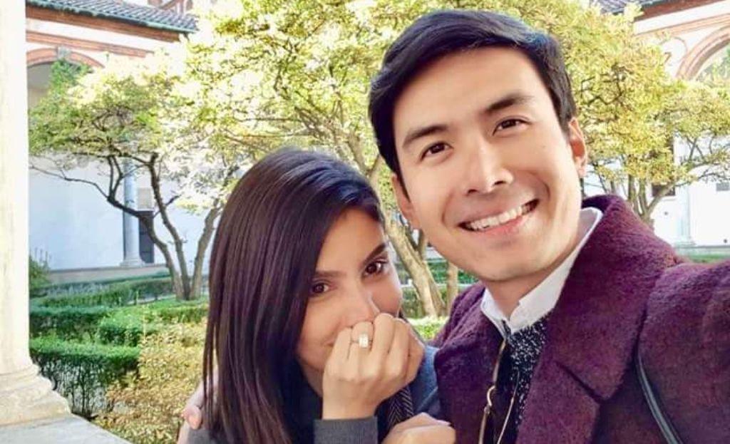 Christian Bautista melamar kekasihnya, Kat Ramnani [foto: instagram.com/xtianbautista]