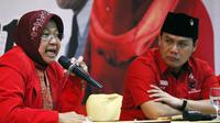 Tri Rismaharini memberikan paparan kepada DPD PDIP Aceh (foto: rilis PDIP)