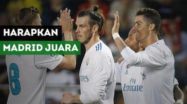 Legenda Timnas Indonesia, Rully Nere berharap Real Madrid bisa menjuarai Liga Champions untuk kali ketiga secara beruntun.