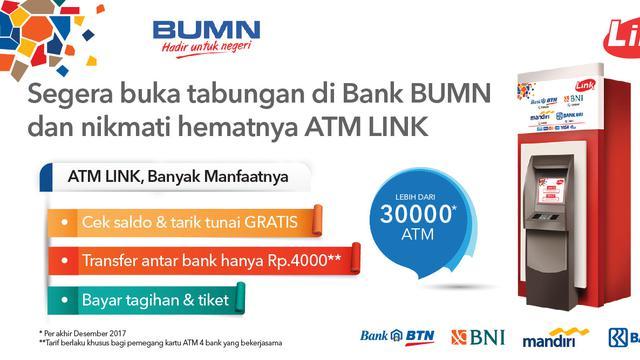 Tarik Tunai Gratis Atm Link Jadi Solusi Perbankan Bisnis Liputan6 Com
