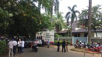 Rumah Prabowo di Jalan Kartanegara sepi relawan.