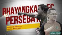 Piala Gubernur Jatim - Bhayangkara FC Vs Persebaya - Duel Pelatih (Bola.com/Adreanus Titus)