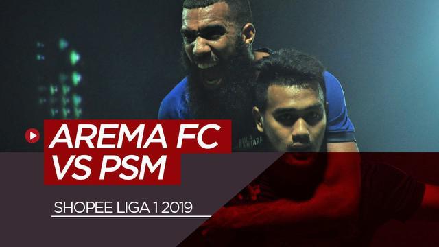 Berita video highlights kemenangan Arema FC atas PSM Makassar pada pekan ke-22 Shopee Liga 1 2019.