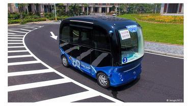 Bus otonomos Baidu