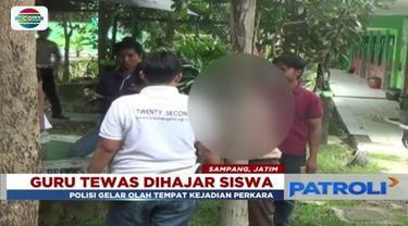 Aniaya gurunya hingga meninggal dunia, seorang siswa di Sampang, Madura, dijerat hukuman 7 tahun penjara.