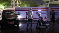 Gubernur Jateng Ganjar Pranowo menemukan penyebab banjir kompleks Kantor Gubernur pada Selasa (23/2) sore.