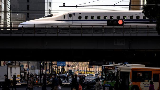 Ilustrasi Kereta Super Cepat. (Doc: AFP)