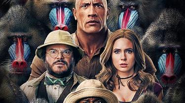 Poster film Jumanji: The Next Level. (Foto: IMDb/ Dok. Columbia Pictures)