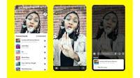 Fitur Sounds yang ada di Snapchat. (Dok. Snapchat)