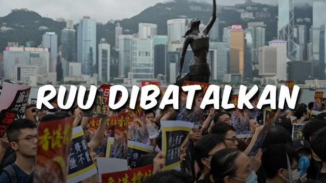Video Top 3 hari ini ada berita terkait RUU Ekstradisi Hong Kong dibatalkan. Berita selanjutnya Badai Dorian terjang Pulau Abaco di Bahama dan film Gundala tembus 1 juta penonton.