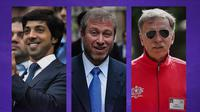 Premier League - Sheikh Mansour, Roman Abramovich, Stan Kroenke (Bola.com/Adreanus Titus)