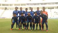 Persiba Balikpapan saat bermain di Piala Gubernur Kaltim 2018. (Liputan6.com/Abelda Gunawan)