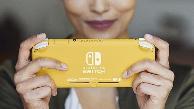 Nintendo Resmi Memperkenalkan Switch Lite (sumber: Nintendo)