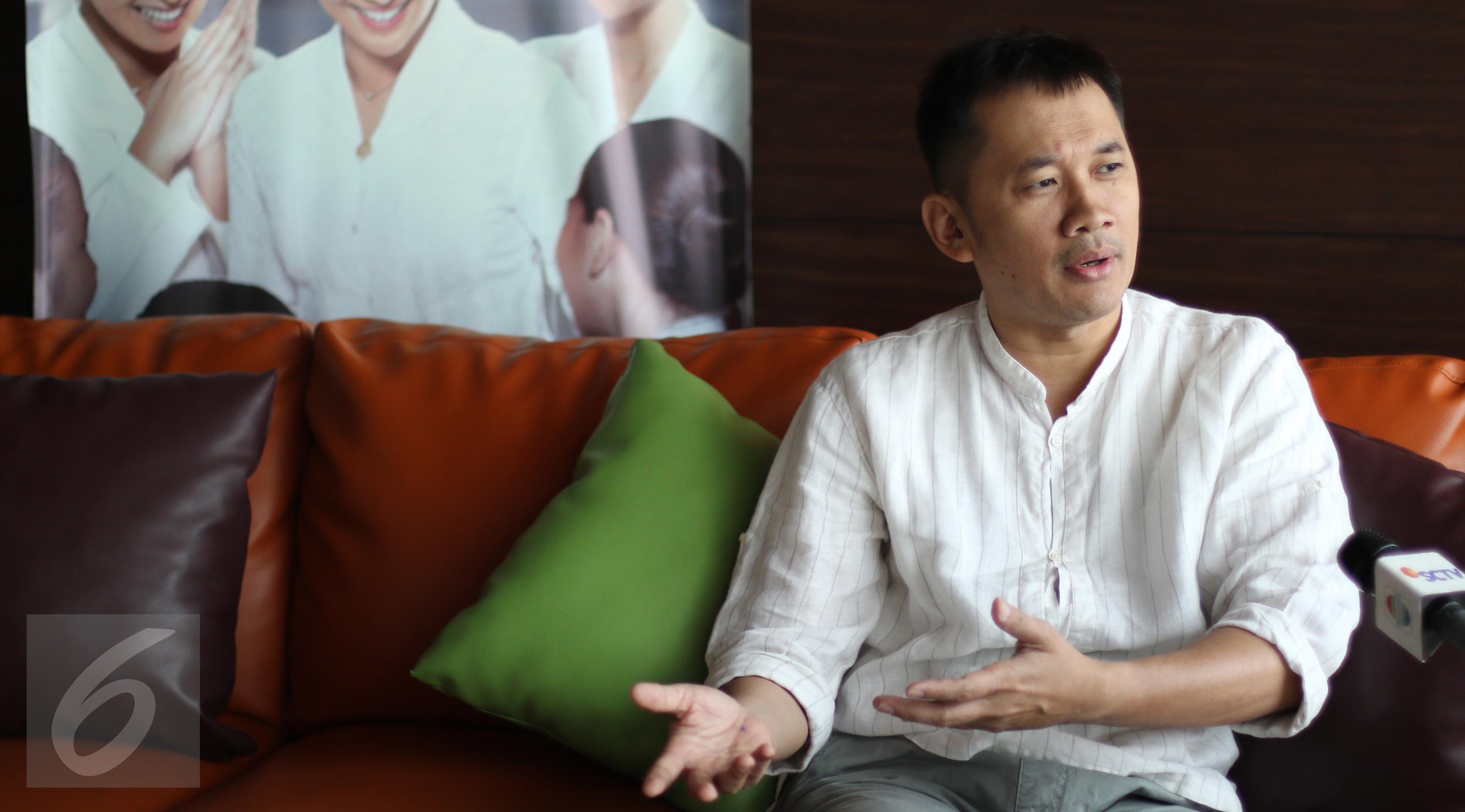 Hanung Bramantyo. (Liputan6.com/Fatkhur Rozaq)