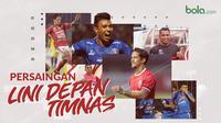 Persaingan Lini Depan Timnas Indonesia. (Bola.com/Dody Iryawan)
