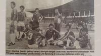 Sinyo Aliandoe, hampir meloloskan Indonesia ke putaran final Piala Dunia 1986 Meksiko. (Repro)