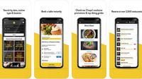 Tampilan aplikasi Chope di App Store (Foto: Ist)