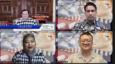 Penandatanganan kerjasama ini dilakukan secara virtual oleh Donghwan Kim dari Backpackr.inc (IDUS) dengan Novita Yunus dari Batik Chic pada akhir pekan lalu.