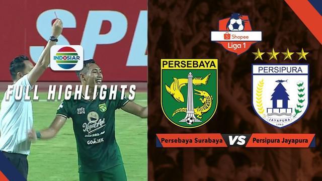 Berita video highlight Shopee Liga 1 2019 antara Persebaya Surabaya melawan Persipura Jayapura yang berakhir dengan skor 1-0, Jumat (2/8/2019).