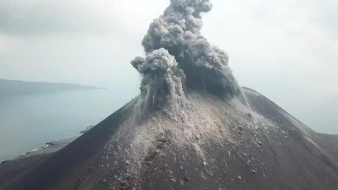 Gunung Anak Krakatau. (dok BNPB)