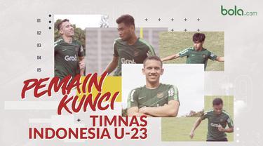Pemain kunci di Timnas Indonesia U-23