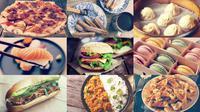 Ilustrasi kuliner terpopuler di Indonesia sepanjang 2016