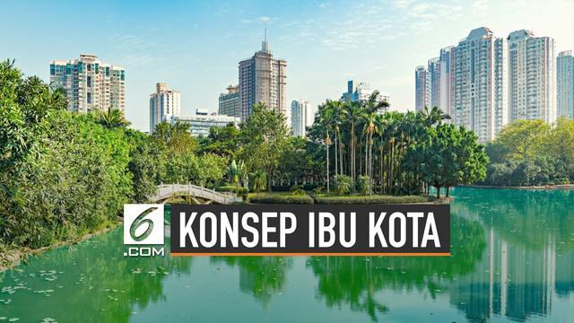 Menteri PUPR, Basuki Hadimuljono jelaskan konsep pembangunan ibu kota baru. Pengganti Jakarta itu gunakan konsep city in the forest.