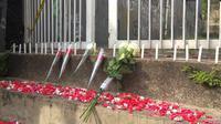 Lokasi pembunuhan siswi SMK di Bogor. (Liputan6.com/Achmad Sudarno)
