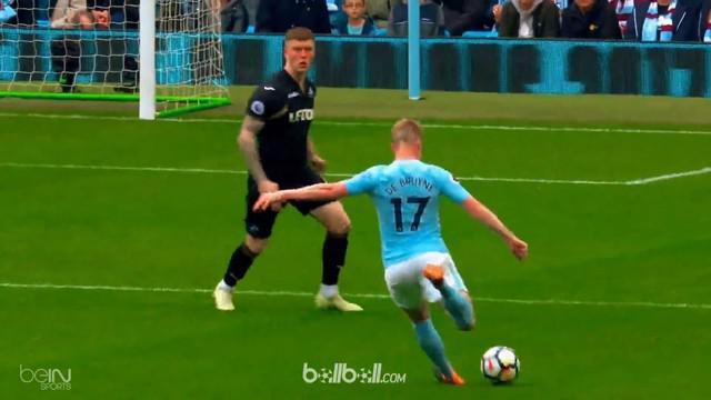 Berita video Kevin de Bruyne dan para pencetak gol terbaik yang tercipta pada pekan ke-35 Premier League 2017-2018. This video presented by BallBall.