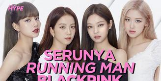 Intip bocoran keseruan BLACKPINK saat jadi bintang tamu Running Man di video di atas ini!