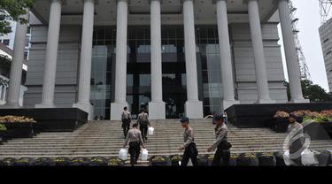 Jelang Keputusan Pilpres, Pengamanan MK Diperketat
