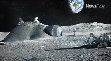 Pejabat antariksa China, Tian Yulong telah mengadakan perundingan dengan Badan Antariksa Eropa atau ESA untuk membangun permukiman manusia.