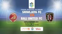 Sriwijaya vs Bali United