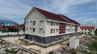 Kementerian PUPR mengubah penggunaan rusunawa Masyarakat Berpenghasilan Rendah (MBR) di Lampung Selatan menjadi tempat isolasi pasien terjangkit virus Corona. (Dok Kementerian PUPR)