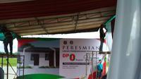 Lokasi pembangunan rumah DP 0 rupiah di Rorotan Cilincing Jakarta Utara. (Moch Harun Syah/Liputan6.com)