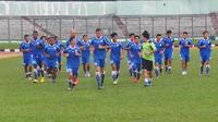 Latihan Persib Bandung (Okan Firdaus/ Liputan6.com)
