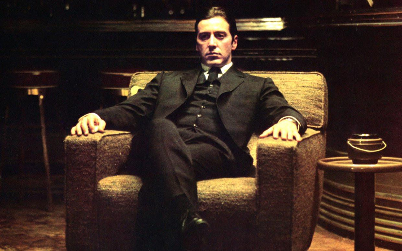 Al Pacino saat memerankan bos mafia The Godfather (Pinterest)