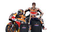 Pembalap Repsol Honda, Dani Pedrosa mampu mengatasi keterbatasan fisiknya untuk tetap kompetitif di MotoGP. (Twitter/Repsol Honda)