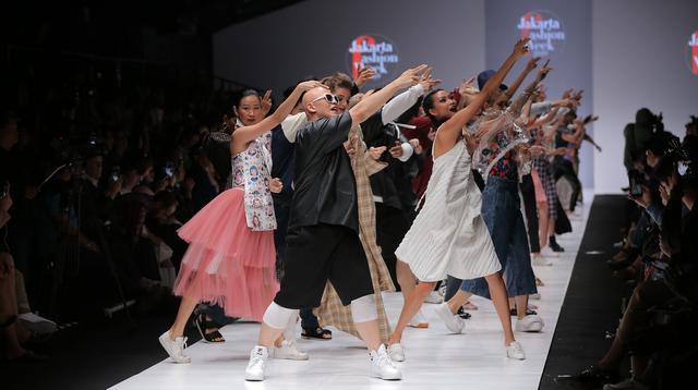 Pembukaan Jakarta Fashion Week 2019. (Foto: Fimela/ Deki Prayoga)
