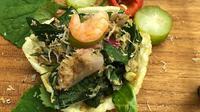 Lambai, urap khas Aceh karya Chef Santhi Serad. (dok. Santhi Serad/Dinny Mutiah)