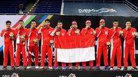 Tim Bulutangkis Indonesia harus puas hanya meraih 2 medali dan 4 medali perunggu di ajang Bulutangkis Sea Games 2017.