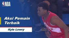 Berita video pemain terbaik game 6 Final NBA 2019 yaitu Kyle Lowry dari Toronto Raptors.